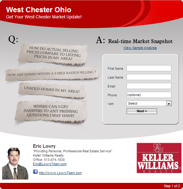 West Chester Ohio Home Values Market Update