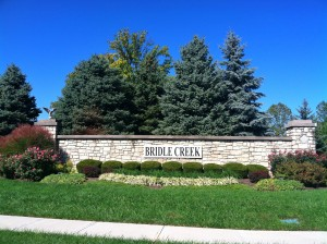 bridlecreek entrance