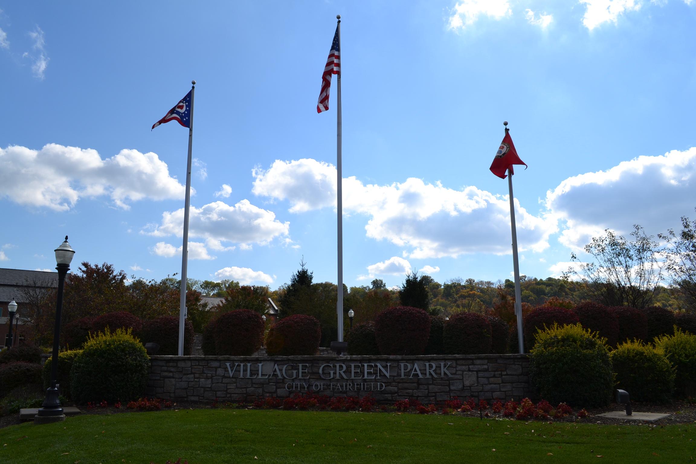 Village Green Park Fairfield Ohio
