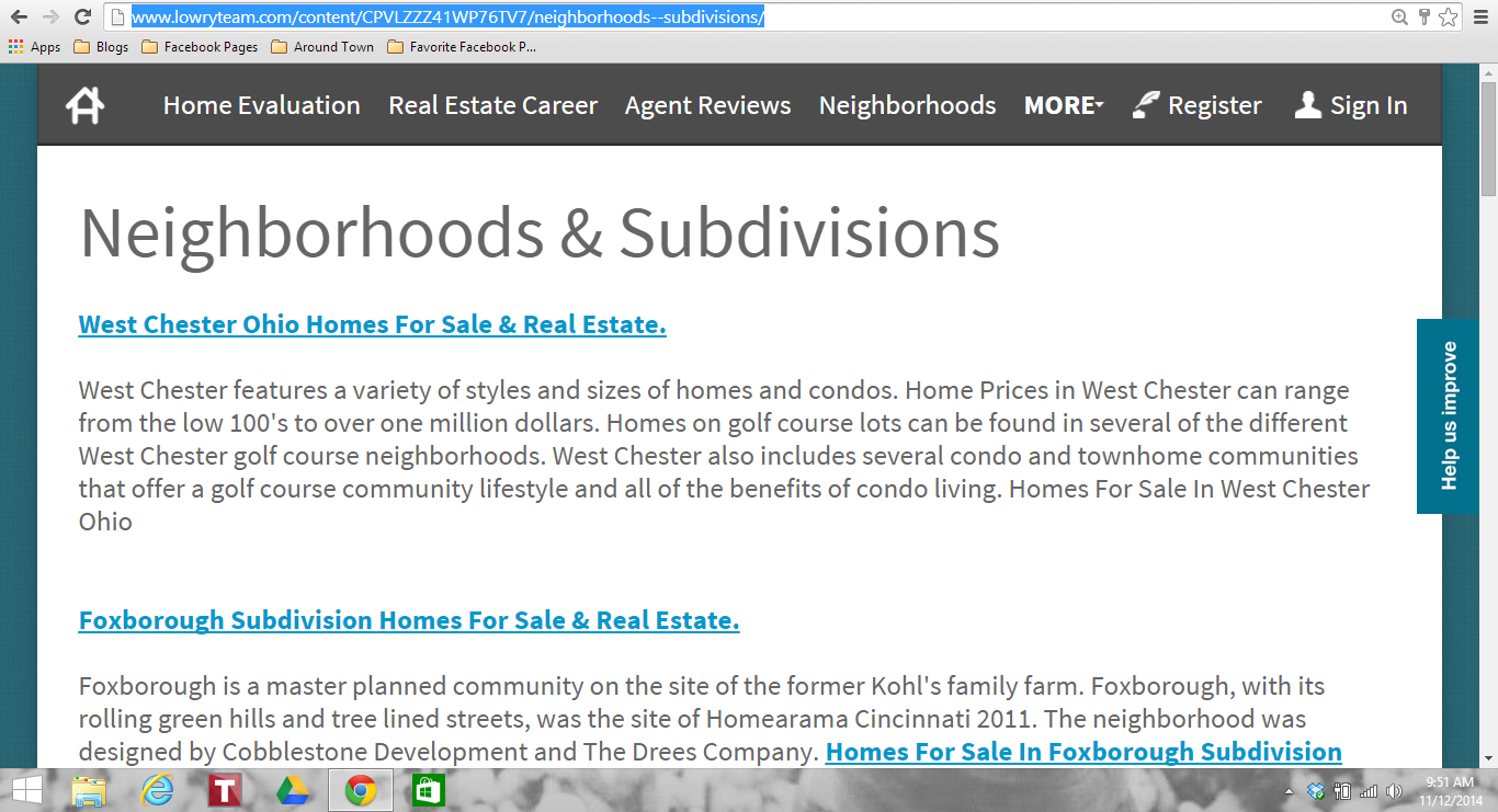 Search homes for sale by subdivision