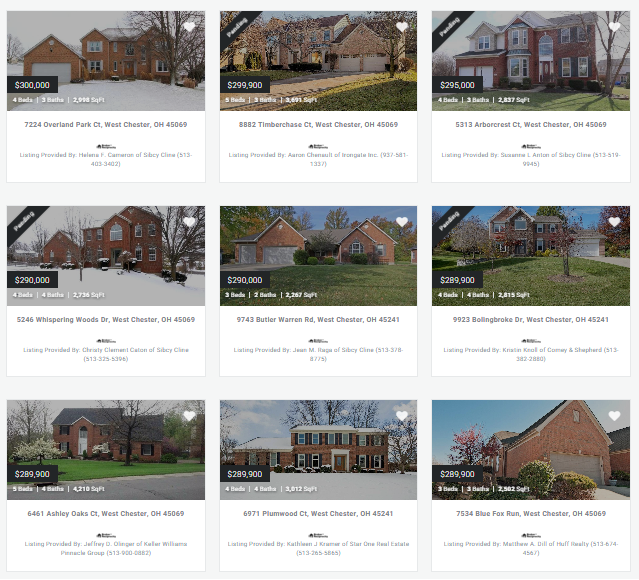 find a property in west chester ohio 45069