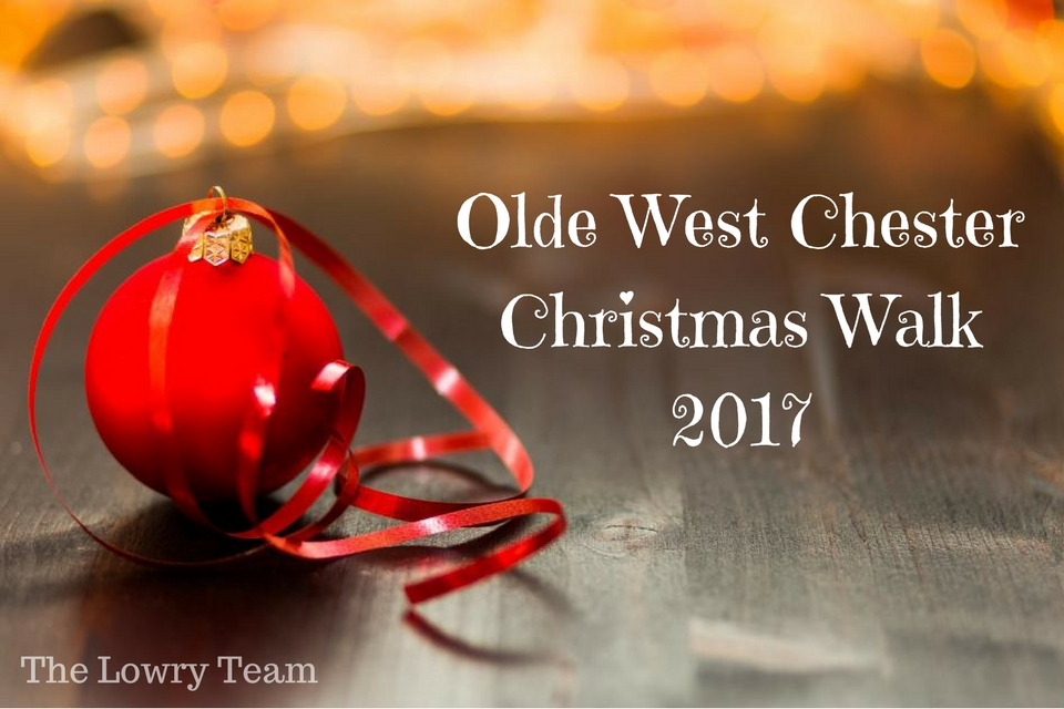 Olde West Chester Christmas Walk 2017